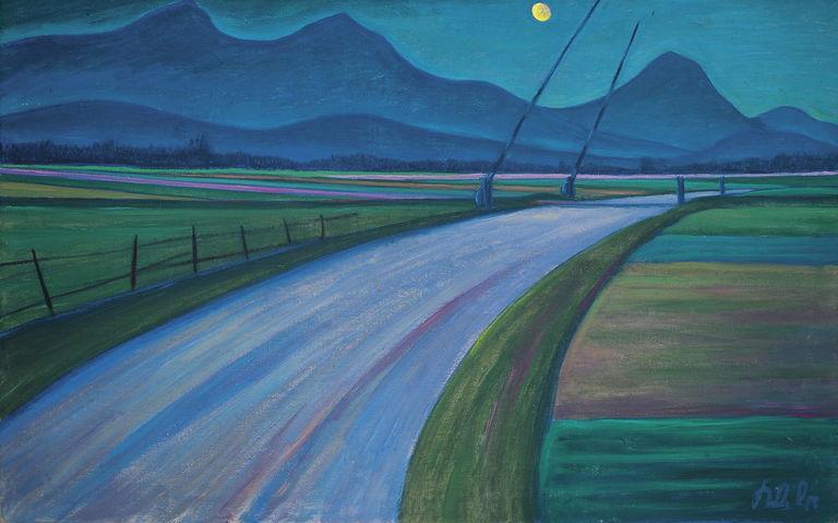 Nočna pokrajina spodnje avstrijske Koroške